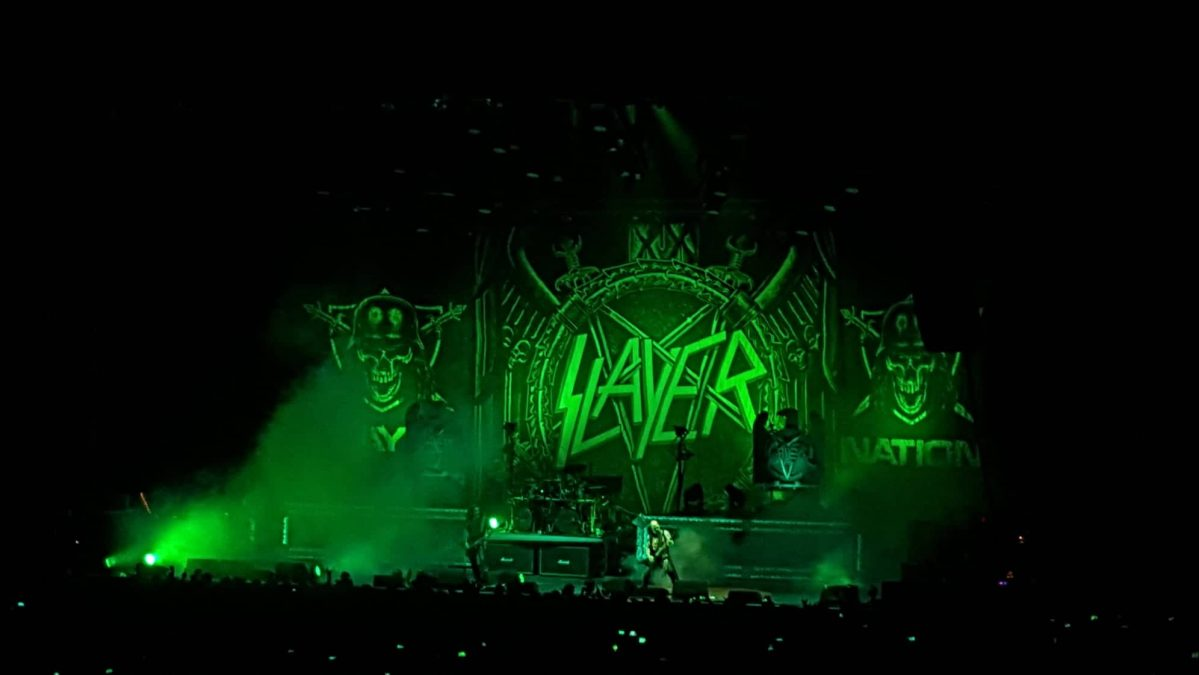 Slayer,Obituary, Anthrax, Lamb Of God  @ Mercedes Benz,Berlin Germany 02/12/2018 + BONUS: Skeletonwitch + Mantar @ SO36 Club in Berlin Germany 01/12/2018
